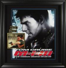 Mission Impossible 3 - Tom Cruise Autographed Framed Poster