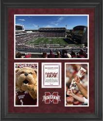 "Mississippi State Bulldogs Davis Wade Stadium Framed 20"" x 24"" 3-Opening Collage"