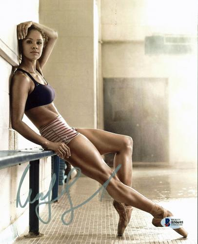 Misty Copeland Ballet Dancer Signed 8x10 Photo Autographed BAS #B50695
