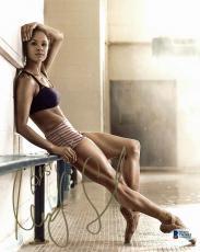 Misty Copeland Ballet Dancer Signed 8x10 Photo Autographed BAS #C63885