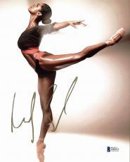 Misty Copeland Ballet Dancer Signed 8x10 Photo Autographed BAS #D80833
