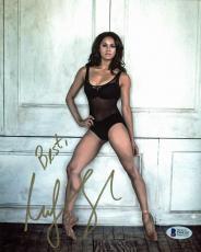 Misty Copeland Ballet Dancer Signed 8x10 Photo Autographed BAS #D94303