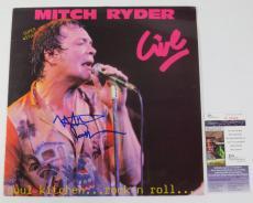 Mitch Ryder Signed LP Record Album Live JSA AUTO