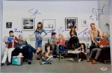 MODERN FAMILY Cast Signed 12x18 Photo ED O'NEILL SOFIA VERGARA TY BURRELL PSA B