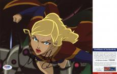 Molly Quinn Signed 8x10 Superman: Unbound Supergirl PSA/DNA