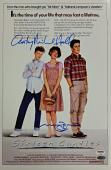 MOLLY RINGWALD + ANTHONY MICHAEL HALL Sixteen Candles Signed 11x17#1 Photo PSA