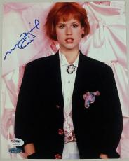 MOLLY RINGWALD Autograph PRETTY IN PINK Signed 8x10 Photo PSA/DNA COA