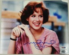 MOLLY RINGWALD Autograph The Breakfast Club Signed 8x10 Photo PSA/DNA COA