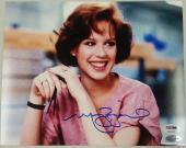 MOLLY RINGWALD Autograph The Breakfast Club Signed 8x10 Photo PSA/DNA COA