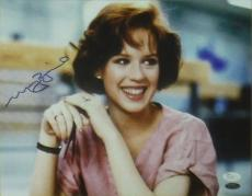 "MOLLY RINGWALD AUTOGRAPHED/SIGNED 11X14 PHOTO ""BREAKFAST CLUB"" w/JSA"