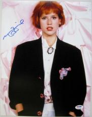 MOLLY RINGWALD Signed 11x14 Sixteen Candles Photo PSA ITP COA Auto Autograph (C)