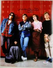 MOLLY RINGWALD Signed 11x14 The Breakfast Club Photo PSA ITP COA Auto Autograph