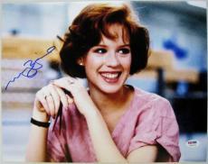 MOLLY RINGWALD Signed 11x14 The Breakfast Club Photo PSA ITP COA Auto Autograph