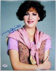 MOLLY RINGWALD Signed 11x14 The Breakfast Club Photo PSA ITP COA Autograph (D)