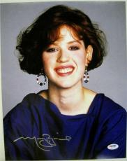 MOLLY RINGWALD Signed 11x14 The Breakfast Club Photo PSA ITP COA Autograph (E)
