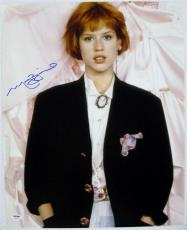 MOLLY RINGWALD Signed 16x20 Pretty In Pink Photo PSA ITP COA Auto Autograph (A)