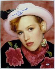 MOLLY RINGWALD Signed 16x20 Pretty In Pink Photo PSA ITP COA Auto Autograph (C)