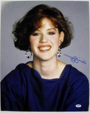 MOLLY RINGWALD Signed 16x20 The Breakfast Club Photo PSA ITP COA Autograph (B)