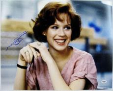 MOLLY RINGWALD Signed 16x20 The Breakfast Club Photo PSA ITP COA Autograph (C)