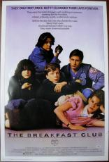 MOLLY RINGWALD Signed 27x40 The Breakfast Club Poster PSA ITP Auto Autograph