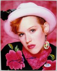MOLLY RINGWALD Signed Pretty In Pink 8x10 Photo PSA/DNA ITP COA Auto Autograph