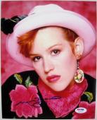 MOLLY RINGWALD Signed Pretty In Pink 8x10 Photo PSA/DNA ITP COA Auto Autograph