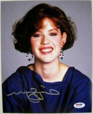 MOLLY RINGWALD Signed Sixteen Candles 8x10 Photo PSA ITP COA Auto Autograph (C)