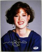 MOLLY RINGWALD Signed Sixteen Candles 8x10 Photo PSA ITP COA Auto Autograph (C)