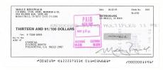 Molly Ringwald Signed Authentic Autographed Personal Check (PSA/DNA) #I71048