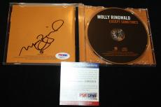 Molly Ringwald signed CD, Sixteen Candles, Breakfast Club,Pretty in Pink,PSA/DNA