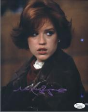 Molly Ringwald Signed 'the Breakfast Club' 8x10 Photo Autograph Jsa Coa