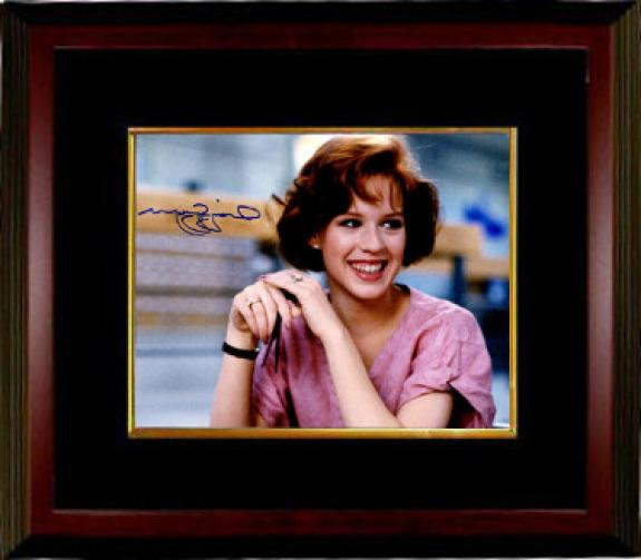 Molly Ringwald signed The Breakfast Club Claire Standish 8x10 Photo Custom Framing - JSA Hologram