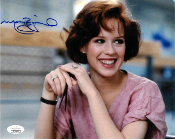 Molly Ringwald signed The Breakfast Club Claire Standish 8x10 Photo- JSA Hologram
