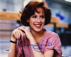 Molly Ringwald Sixteen Candles Autographed Signed 8x10 Photo Certified PSA/DNA