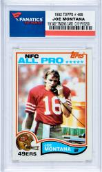MONTANA, JOE (1982 TOPPS # 488) CARD - Mounted Memories