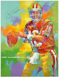 Montana, Joe Autographed Original Art
