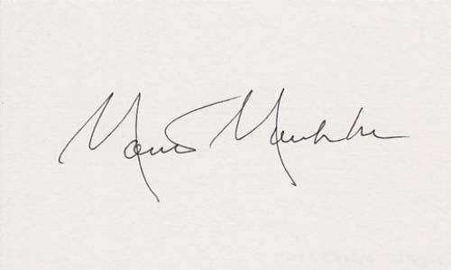 Monte Markham Signed - Autographed 3x5 inch Card - Guaranteed to pass BAS - STAR TREK Actor