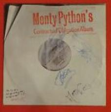 Monty Python Autographed Contractual Obligation Album Lp Signed By 4