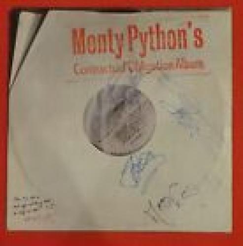 Monty Python Autographed Contractual Obligation Album Lp Signed By 4