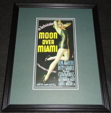 Moon Over Miami Framed 11x14 Poster Display Official Repro Betty Grable