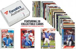 Warren Moon Houston Oilers Collectible Lot of 20 NFL Trading Cards
