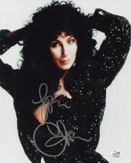 MOONSTRUCK signed CHER - if i could turn back time - AUTHENTICATED