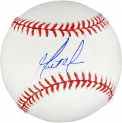 Matt Moore Autographed Baseball