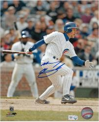 "Mickey Morandini Chicago Cubs Autographed 8"" x 10"" MLB Off Balance Photograph"