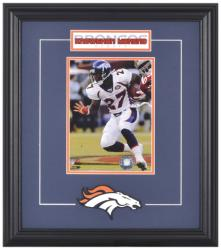 Denver Broncos Knowshon Moreno Framed Photo and Plate - Mounted Memories