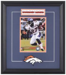 Denver Broncos Knowshon Moreno Framed Photo and Plate