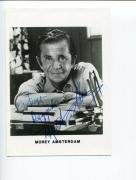 Morey Amsterdam Dick Van Dyke Show Mister Magoo's Christmas Signed Autogra Photo