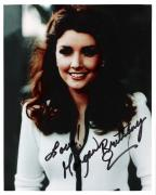 """MORGAN BRITTANY (TV/FILM ACTRESS) Best Known for her Role as KATHERINE on """"DALLAS"""" Signed 8x10 Color Photo"""