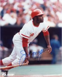 Joe Morgan Reds Autographed 8x10 Photo