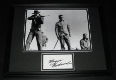 Morgan Woodward Signed Framed 11x14 Photo Display w/ Paul Newman